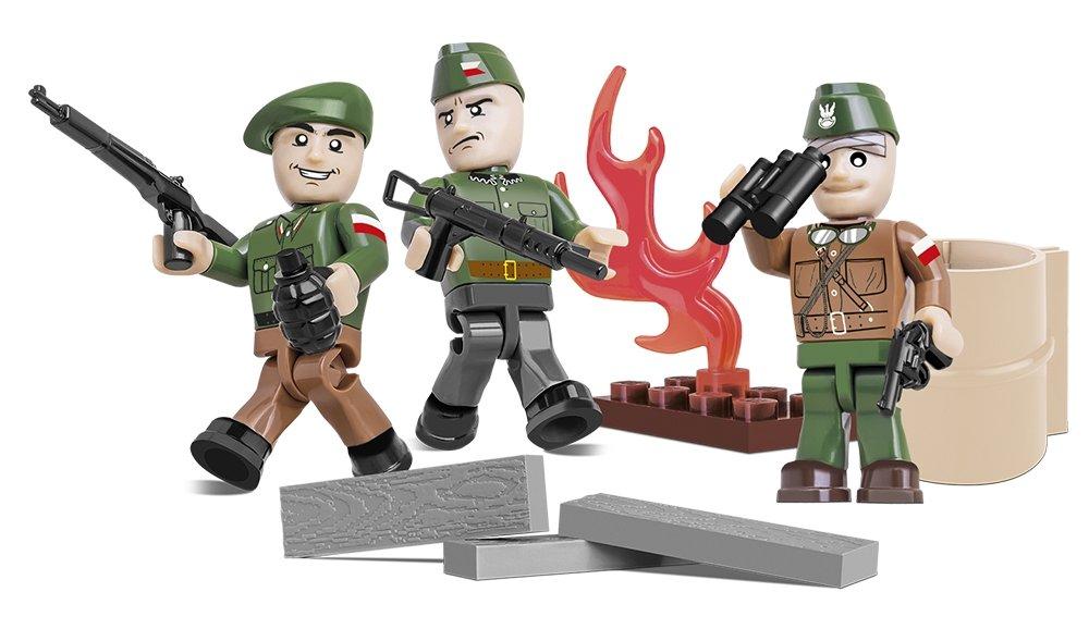 COBI Warsaw Uprising Figure Set (2035) Reviews