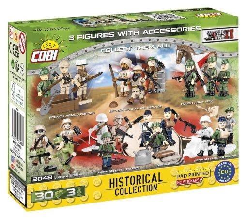 COBI D-Day Figure Set (2048) Build Cobi