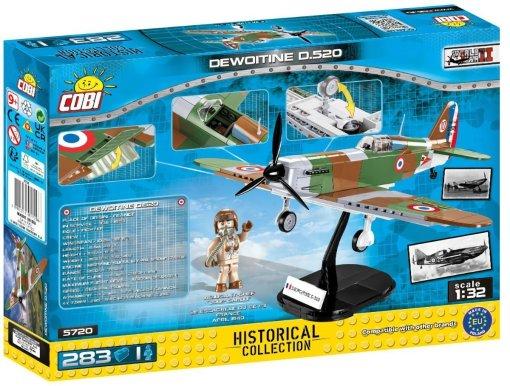 COBI Dewoitine D520 Set (5720) Build Cobi