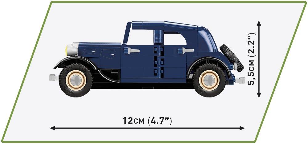 COBI 1934 Citroen Traction 7A (2263) Size