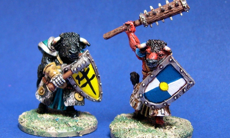 Splintered Light fantasy minotaurs