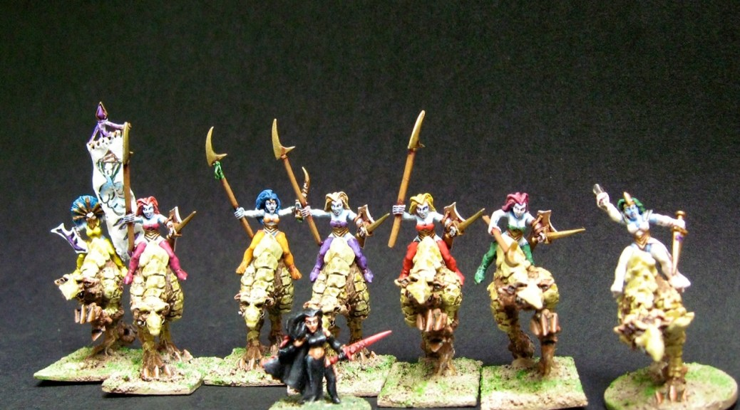 Demonworld, 15mm.co.uk and Ral Partha 15mm elves