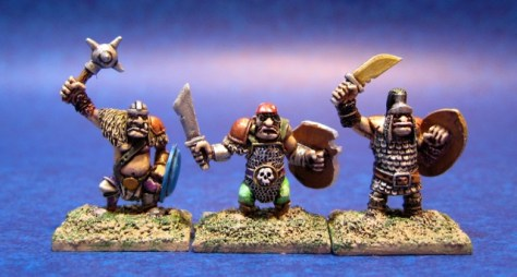 10mm Warmaster Ogres from Games Workshop