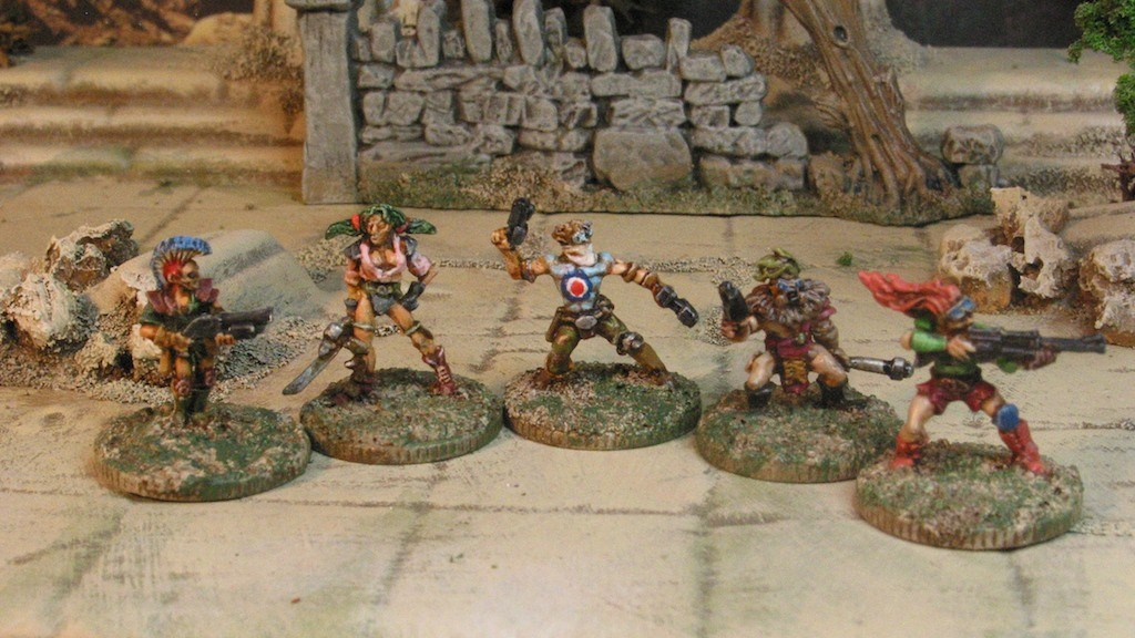 15mm Post Apocolypse Gangers from Khurasan