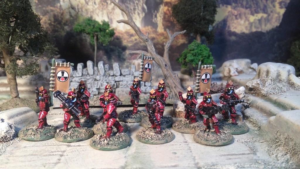 Rebel Miniatures 15mm Titan Marines