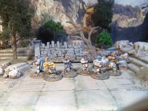 Micropanzer Amakudari Scout Squad 15mm