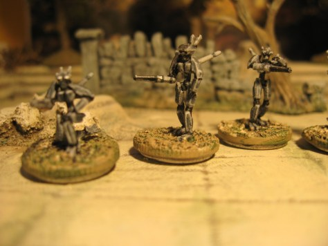 3D Printed 15mm Sci Fi miniatures