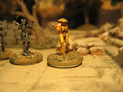 3D Printed 15mm Sci Fi miniatures