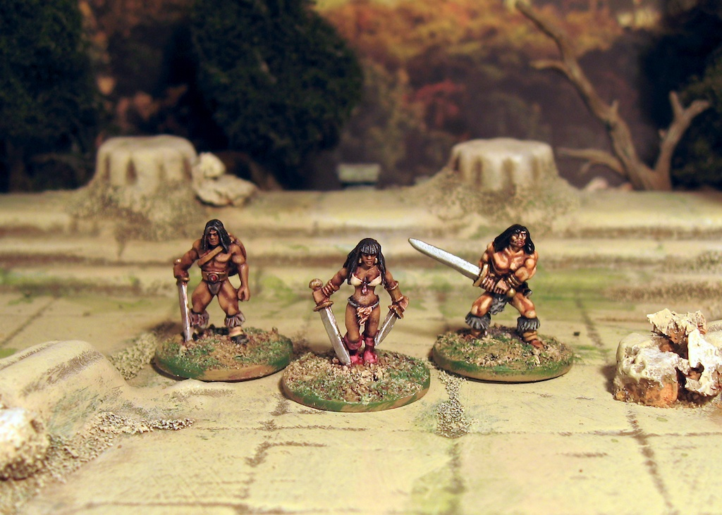 Conan! Crom, that looks painful: 15mm Copplestone