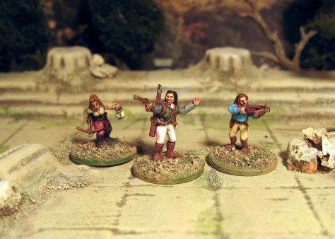 Blue Moon Vampire Hunters 15mm