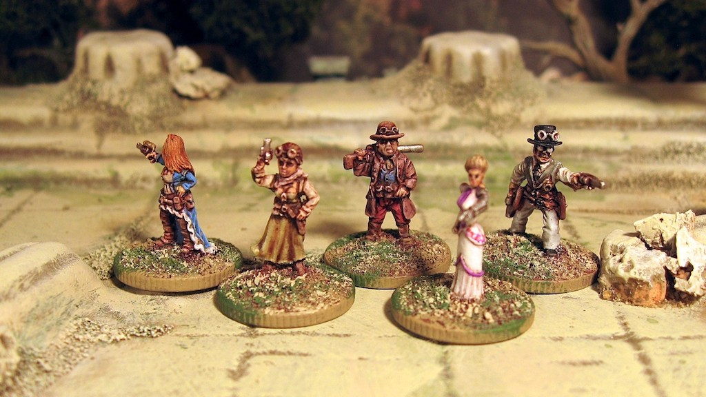 Rebel Minis Steampunk Pulp 15mm