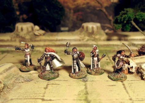 Splintered Light Dungeon Adventurers 15mm