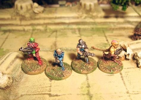 Crtical Mass Games 15mm scifi mercenaries
