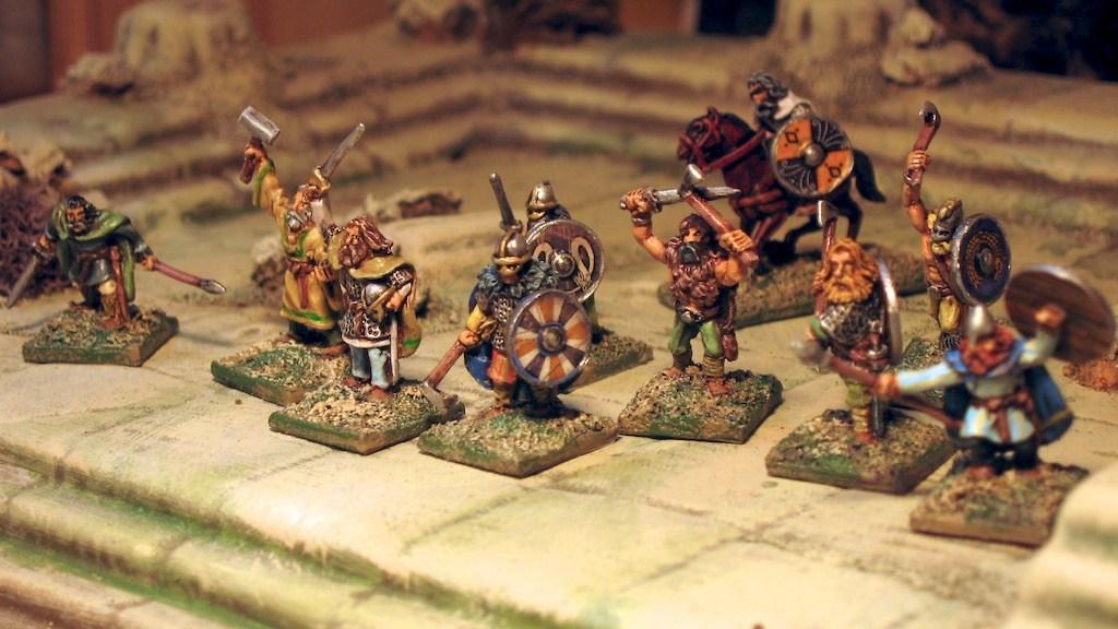 15mm Viking Warband Dark Ages Splintered Light Miniatures
