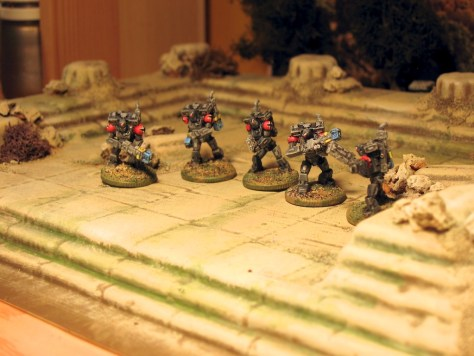 15mm Federal Marine Special Assault Brigade in Power Armour