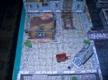 15mm fantasy wargame terrain boards. Canal town.