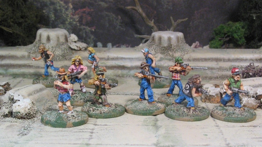 15mm Rednecks from Khurasan Miniatures