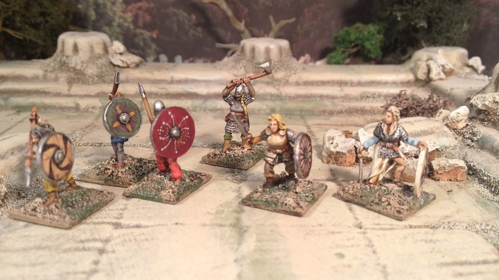 Splintered Light Miniatures 15mm Viking Shield Maidens