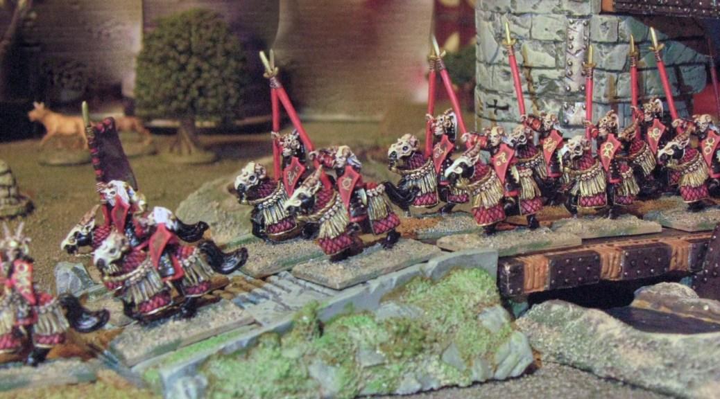 15mm Demonworld Dark Elf Cavalry Dar'Kalon Heavy Cavalry