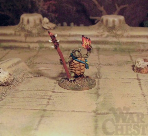 Splintered Light Miniatures 20mm Woodland Folk Tortoise Wizard