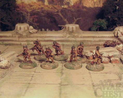 15mm Flames of War American Paratroopers WW2