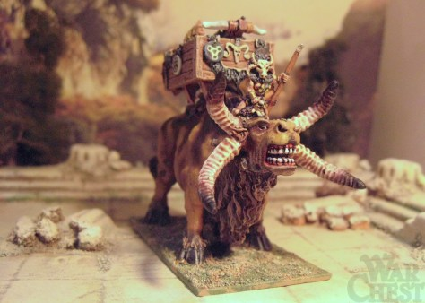 15mm Demonworld Thain Fantasy Gar'ydwedd with Ballista
