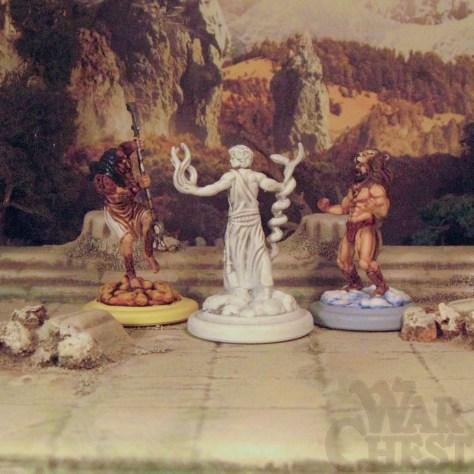 Mythological Gods Norse, Greek, Egyptian High Heavens Board Game 28mm miniatures