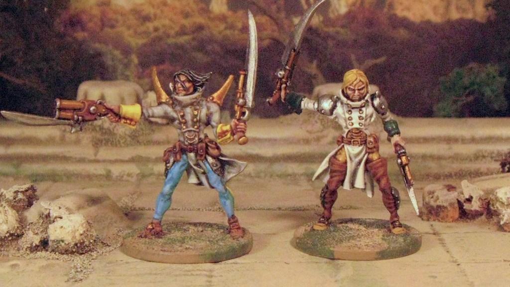 Rackham Confrontation Hybrid 28mm Fantasy Steampunk Frostgrave Warband Templars of Hod
