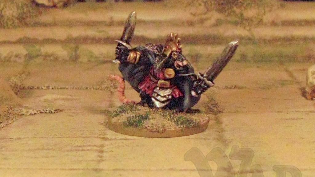 15mm, 18mm, 20mm, 25mm, 28mm Woodland warriors rat from Splintered Light Miniatures