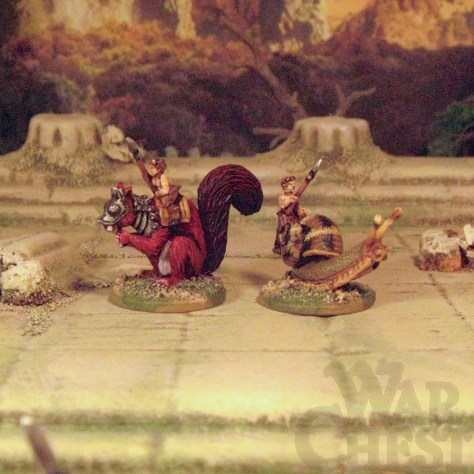 28mm 15mm Fanticide FANFA07  Fae Brownie & Spryte Masters