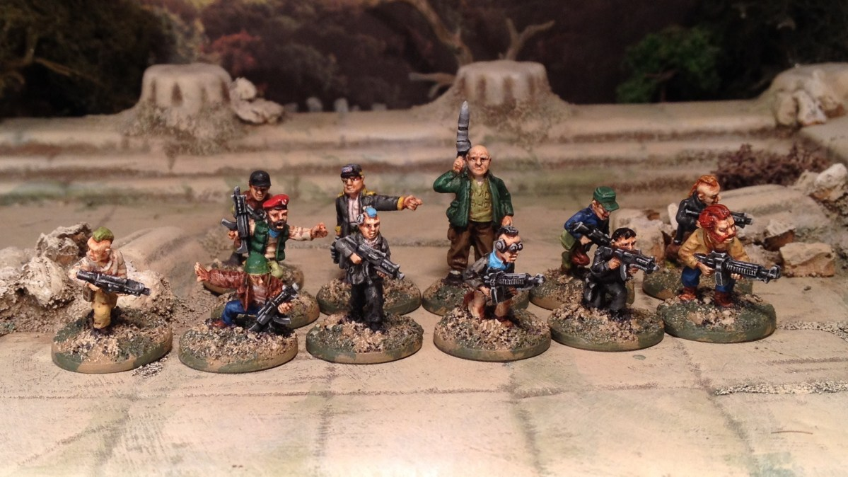 15mm Rebels, Post Apoc or Sci Fi Mercs from Oddzial Osmy