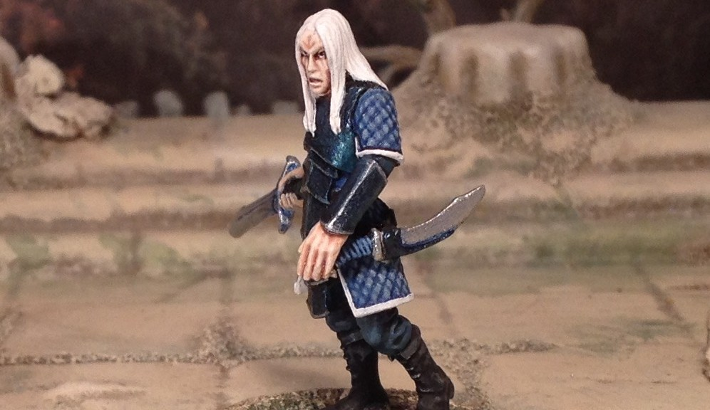 28mm Fantasy Ceril Brooding Elf Lord Hasslefree Miniatures Kev White sculptor