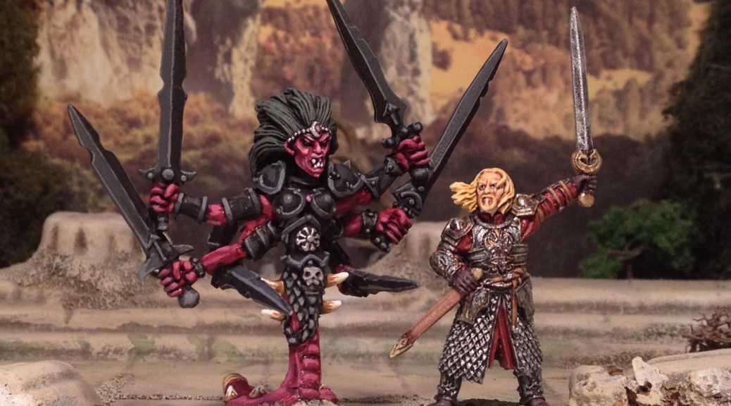 Games Workshop Kali Deamon Demon miniature