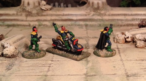 15mm Judge Dredd 2000AD SciFi Skirmish