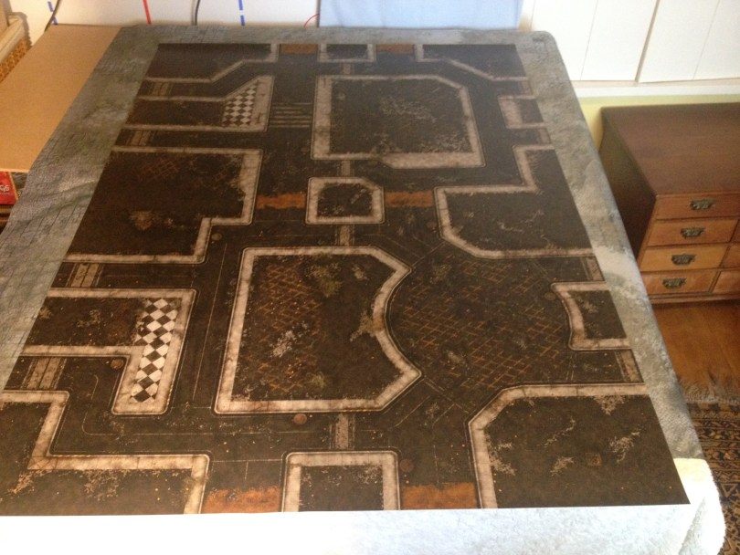 Pixartprinting DIY vinyl wargaming mats battle boards tiles color printing