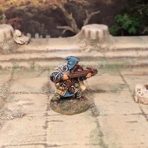 Hasslefree Miniatures Dwarf with Crossbow