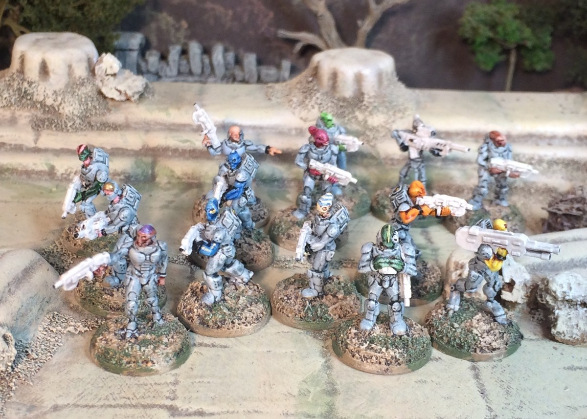 Pangalatic Legion has Landed: PF sculpts from Rebel Minis