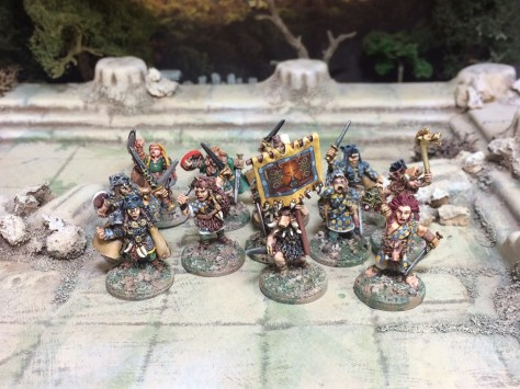 15mm Demonworld Ral Partha Europe RPE Barbarians Thain Dragon Rampant