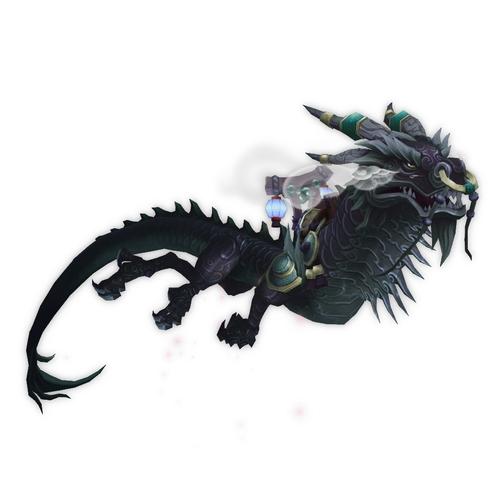 Dragón nimbo ónice