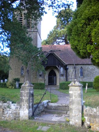The Anglican parish church at Fernhurst, West Sussex, by Charlesdrakew, 2010, Public Domain