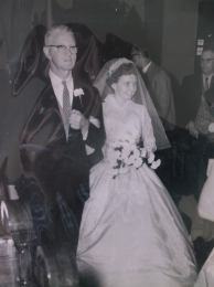 Edward Hayes at daughter Jean Marie's wedding 1958 2