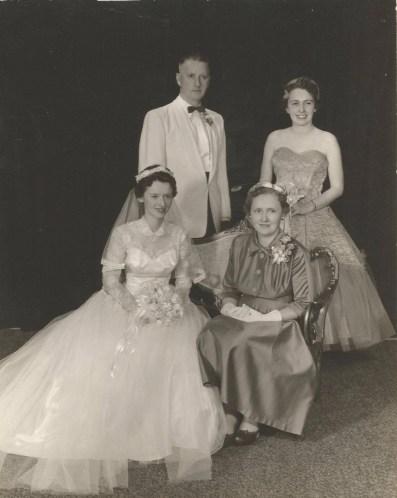Josephine Theresa Hayes and George Henry House Wedding
