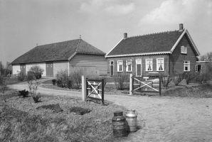 Farm House in Oostkapelle, Veere, Zeeland, The Netherlands, 1962