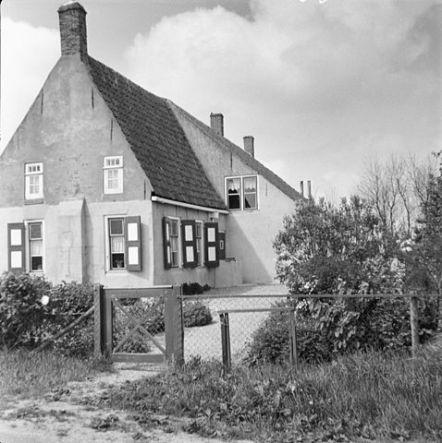 Farm House in Aagtekerke, Veere, Zeeland, The Netherlands, 1962