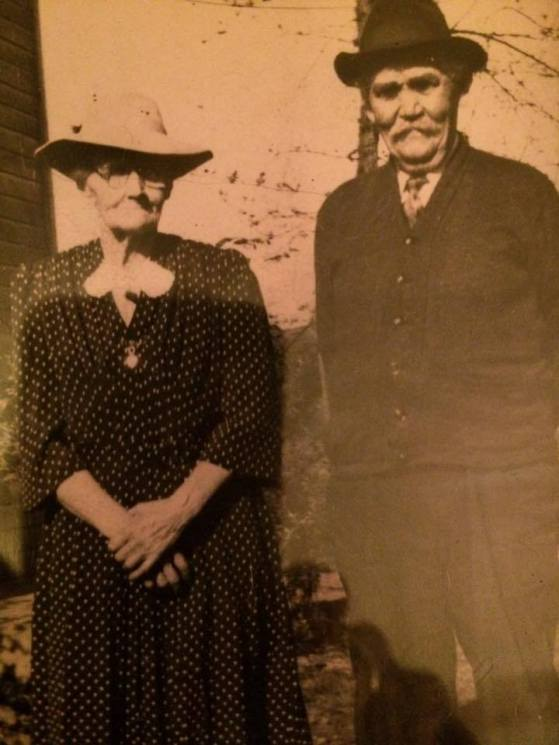 William Murray and Catherine Scanlon at the Murray Farm in Minline Montezuma New York