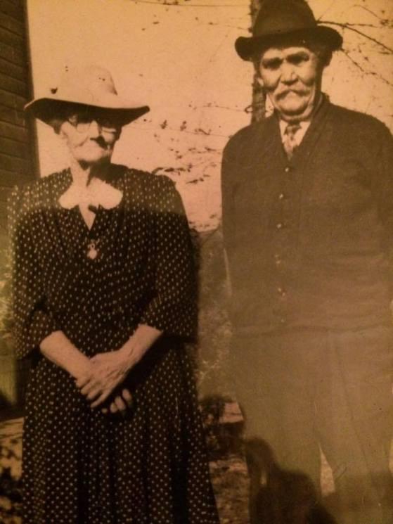 William Murray and Catherine Scanlon at the Murray Farm in Minline Montezuma New York