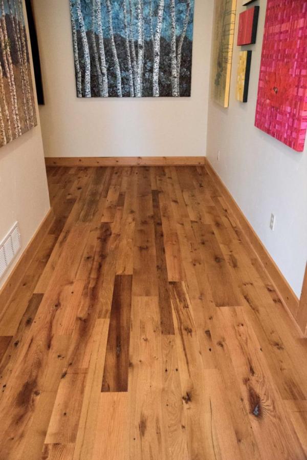 Reclaimed Resawn Oak Hardwood Flooring Ward