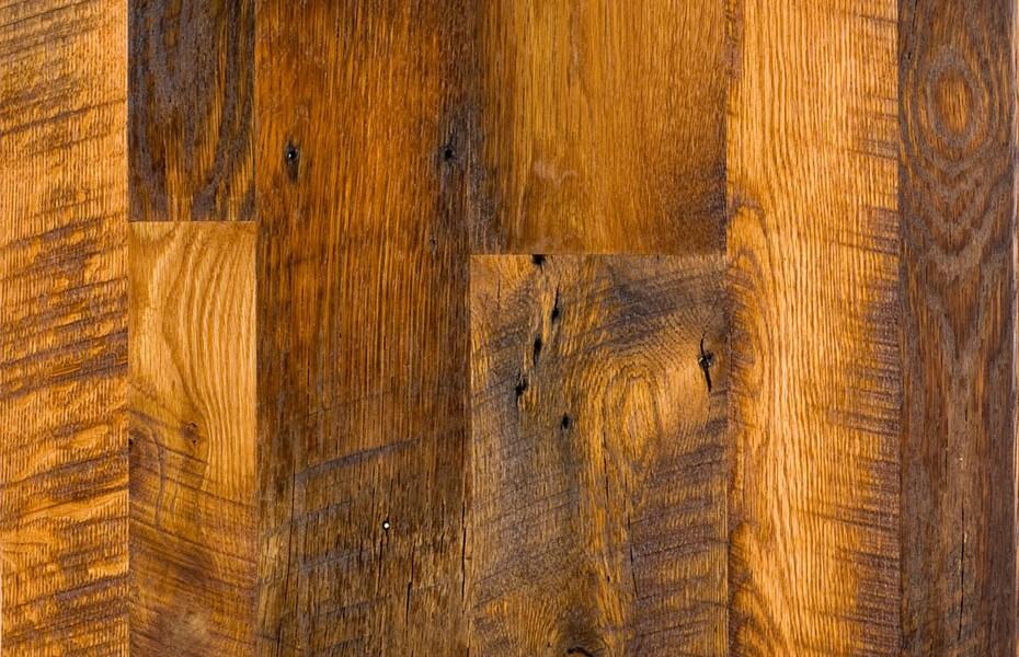 Antique  Reclaimed Oak Hardwood Flooring Evergreen CO