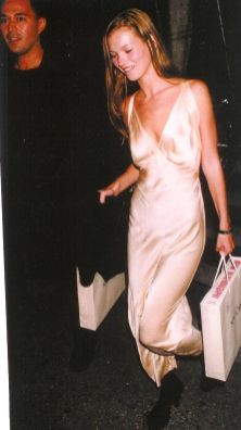 Slip dress kate moss