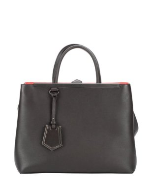 Fendi Dark Brown Leather '2Jours' Convertible $1712 Bluefly